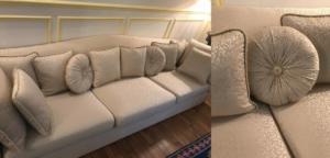 Canapé et coussin